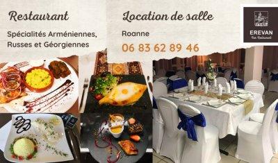 Ré ouverture terrasse restaurant  Roanne