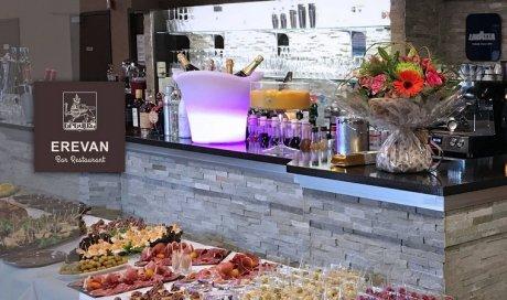 Restaurant spécialité saveur d'Arménie avec plats qui changent tous les jours à Roanne EREVAN